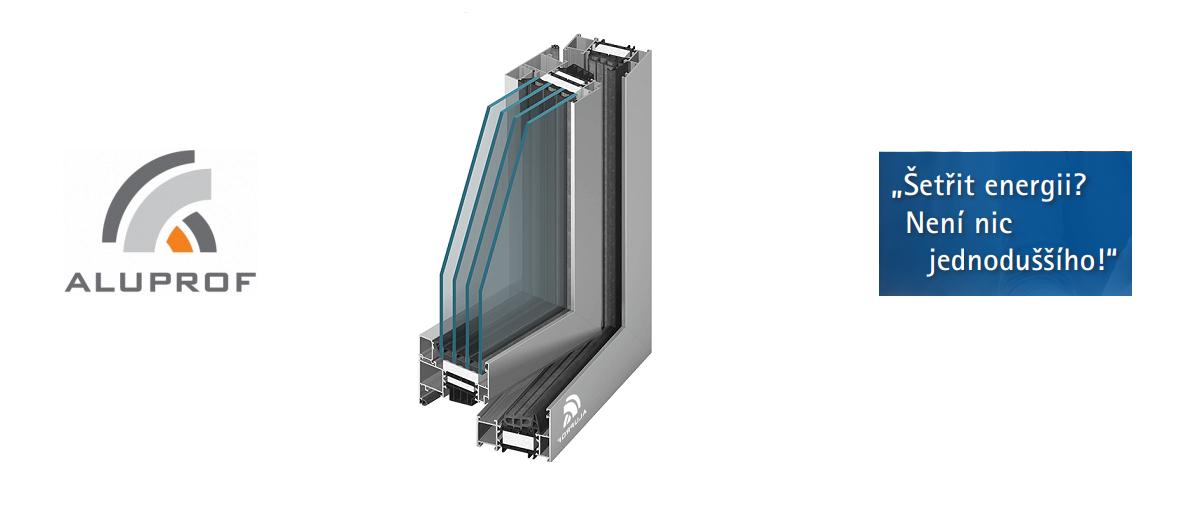 Hliníková okna ALUPROF MB86